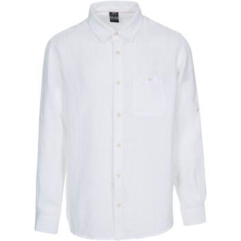 Textiel Heren Overhemden lange mouwen Trespass  Wit