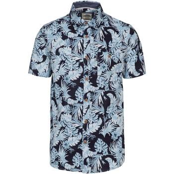 Textiel Heren Overhemden korte mouwen Trespass  Marine