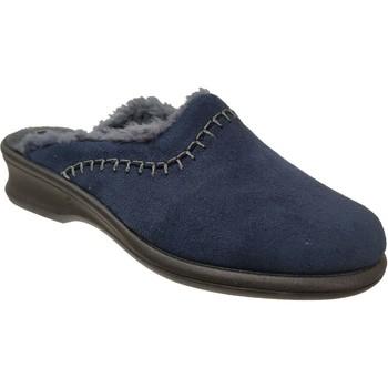 Schoenen Dames Sloffen Rohde Farun Marineblauw fluweel