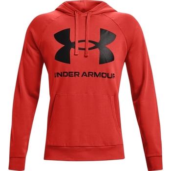 Textiel Heren Sweaters / Sweatshirts Under Armour Rival Fleece Big Logo Rood