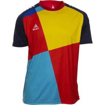 Textiel Jongens T-shirts korte mouwen Select T-shirt enfant  Player Pop Art bleu/jaune/rouge