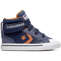Schoenen Kinderen Hoge sneakers Converse Pro blaze strap hi Blauw