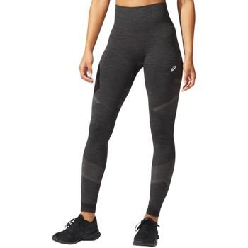 Textiel Dames Leggings Asics Seamless Tight Noir