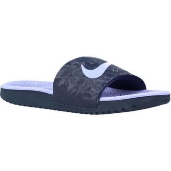 Schoenen Meisjes slippers Nike KAWA SLIDE Violet