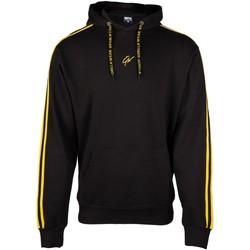 Textiel Truien Gorilla Wear Banks Oversized Hoodie Black/Yellow Zwart