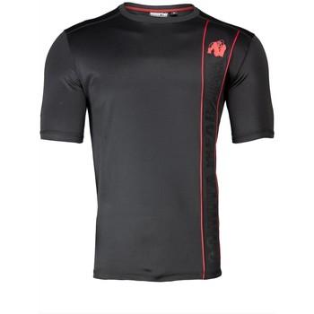 Textiel T-shirts korte mouwen Gorilla Wear Branson T-Shirt Black/Red Zwart