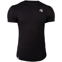 Textiel T-shirts korte mouwen Gorilla Wear Detroit T-Shirt Black Zwart