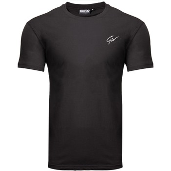 Textiel T-shirts korte mouwen Gorilla Wear Johnson T-shirt Black Zwart