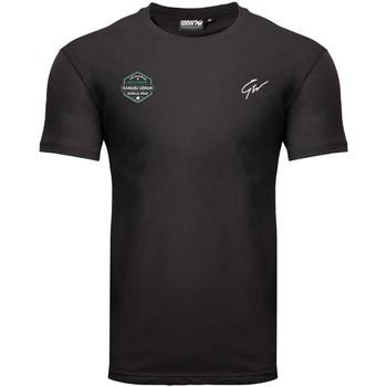 Textiel T-shirts korte mouwen Gorilla Wear Kamaru Usman T-shirt Black Zwart