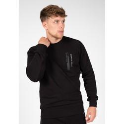 Textiel Sweaters / Sweatshirts Gorilla Wear Newark Sweater Black Zwart