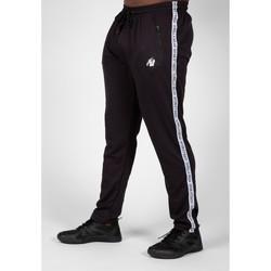 Textiel Heren Trainingsbroeken Gorilla Wear Reydon Mesh Pants 2.0 Black Zwart