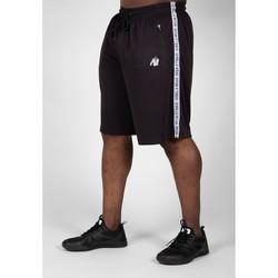 Textiel Heren Korte broeken / Bermuda's Gorilla Wear Reydon Mesh Shorts 2.0 Black Zwart