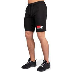 Textiel Heren Korte broeken / Bermuda's Gorilla Wear San Antonio Shorts Black Zwart