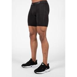 Textiel Heren Korte broeken / Bermuda's Gorilla Wear Smart Shorts Black Zwart