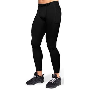 Textiel Heren Leggings Gorilla Wear Smart Tights Black Zwart
