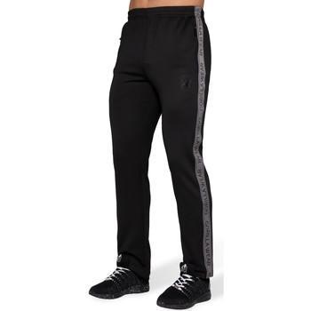 Textiel Heren Trainingsbroeken Gorilla Wear Wellington Track Pants Black Zwart
