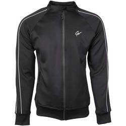 Textiel Heren Trainings jassen Gorilla Wear Wenden Track Jacket Black Zwart