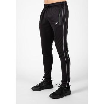 Textiel Heren Trainingsbroeken Gorilla Wear Wenden Track Pants Black Zwart