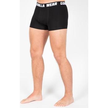 Textiel Heren Korte broeken Gorilla Wear Boxershorts 3-Pack Black Zwart