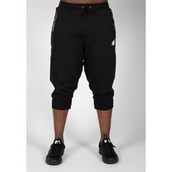 Textiel Heren Trainingsbroeken Gorilla Wear Knoxville 3/4 Sweatpants Black Zwart
