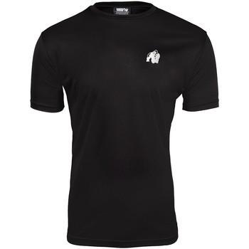 Textiel Heren T-shirts korte mouwen Gorilla Wear Fargo T-Shirt  Black Zwart
