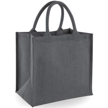 Tassen Tote tassen / Boodschappentassen Westford Mill W413 Grijs/Grafiet