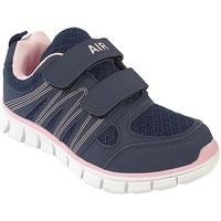 Schoenen Kinderen Lage sneakers Dek  Marine/Zacht Roze