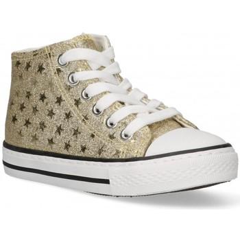 Schoenen Meisjes Hoge sneakers Bubble 58908 goud