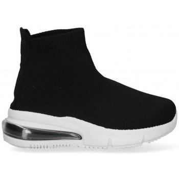 Schoenen Meisjes Hoge sneakers Bubble 58933 zwart