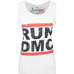 Textiel Dames T-shirts korte mouwen Amplified  Wit
