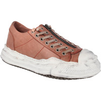 Schoenen Dames Lage sneakers Rebecca White UVRW225B |Rebecca White| D??msk?? n??zk?? tenisky z k??e v barv?? brandy
