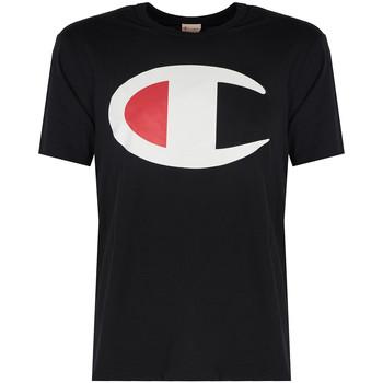 Textiel Heren T-shirts korte mouwen Champion  Zwart