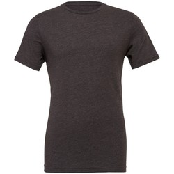 Textiel T-shirts korte mouwen Bella + Canvas CVC3001 Donkergrijze heide