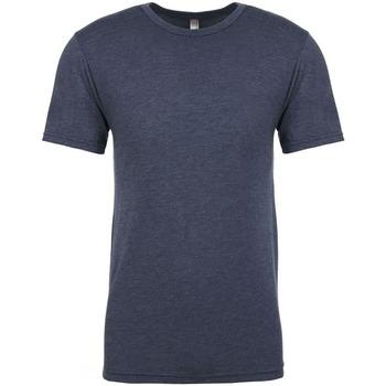 Textiel Heren T-shirts korte mouwen Next Level NX6010 Indigo