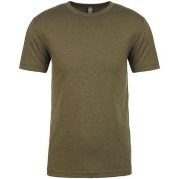 Textiel Heren T-shirts korte mouwen Next Level NX6010 Militair Groen