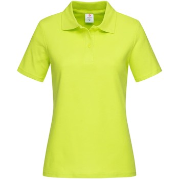 Textiel Dames T-shirts & Polo's Stedman  Heldere kalk