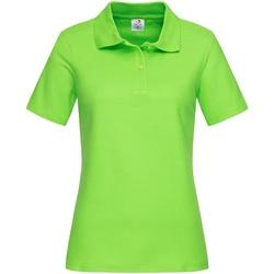 Textiel Dames T-shirts & Polo's Stedman  Kiwi Groen