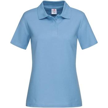 Textiel Dames T-shirts & Polo's Stedman  Lichtblauw