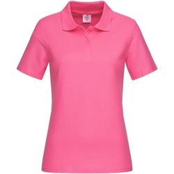 Textiel Dames T-shirts & Polo's Stedman  Zoet Roze