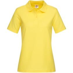 Textiel Dames T-shirts & Polo's Stedman  Geel