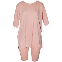 Textiel Dames Pyjama's / nachthemden Forever Dreaming  Perzik