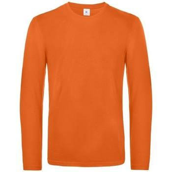Textiel Heren T-shirts met lange mouwen B And C TU07T Stedelijk Oranje