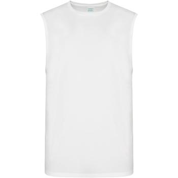 Textiel Heren Mouwloze tops Awdis JC022 Arctisch Wit