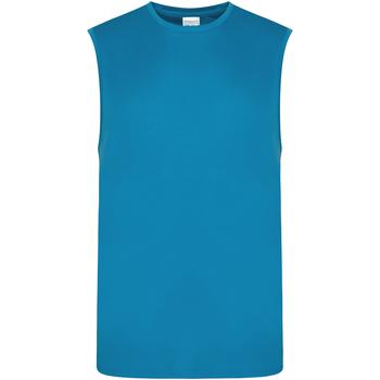 Textiel Heren Mouwloze tops Awdis JC022 Saffierblauw