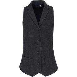 Textiel Dames Gilets Premier PR626 Donkergrijs