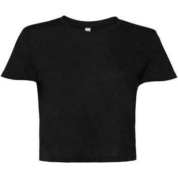 Textiel Dames T-shirts korte mouwen Bella + Canvas BE8882 Zwart