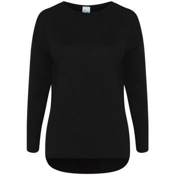 Textiel Dames Sweaters / Sweatshirts Comfy Co CC065 Zwart