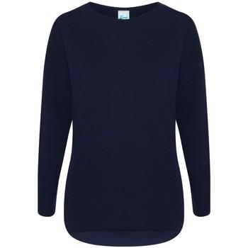 Textiel Dames Sweaters / Sweatshirts Comfy Co CC065 Marine