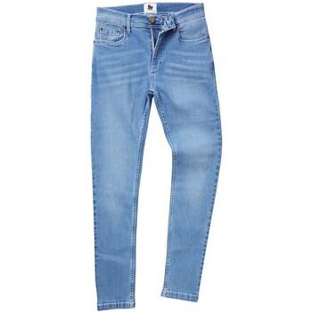 Textiel Heren Straight jeans Awdis SD004 Lichtblauwe was