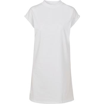 Textiel Dames Korte jurken Build Your Brand BY101 Wit